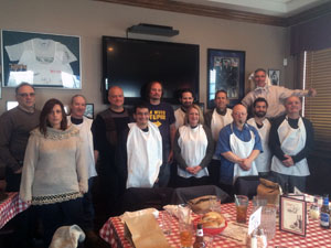 Chef's lunch attendees